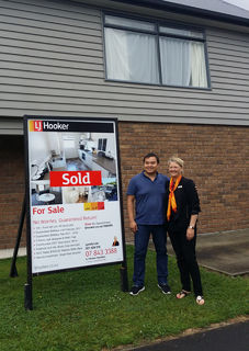 Son thrilled to buy an investment property in Hamilton!