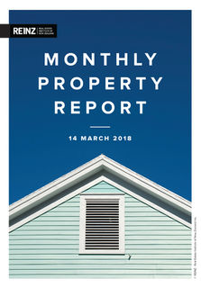 REINZ MARCH 2018 REAL ESTATE REPORT
