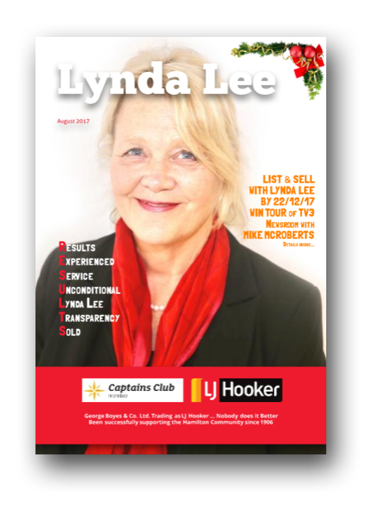 View Lynda Lee from LJ Hooker latest magazine Hot Off The Press!