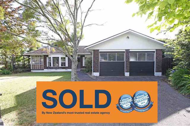 Another property successfully SOLD - 4 Mayfair Ave, Chartwell, Hamilton